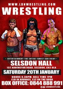 wrestling 20th Jan